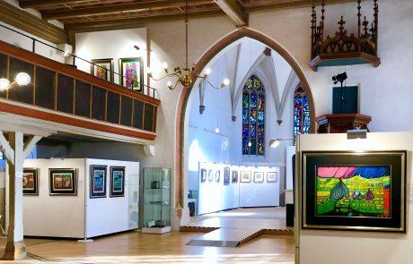 Ausstellungen von Friedensreich Hundertwasser