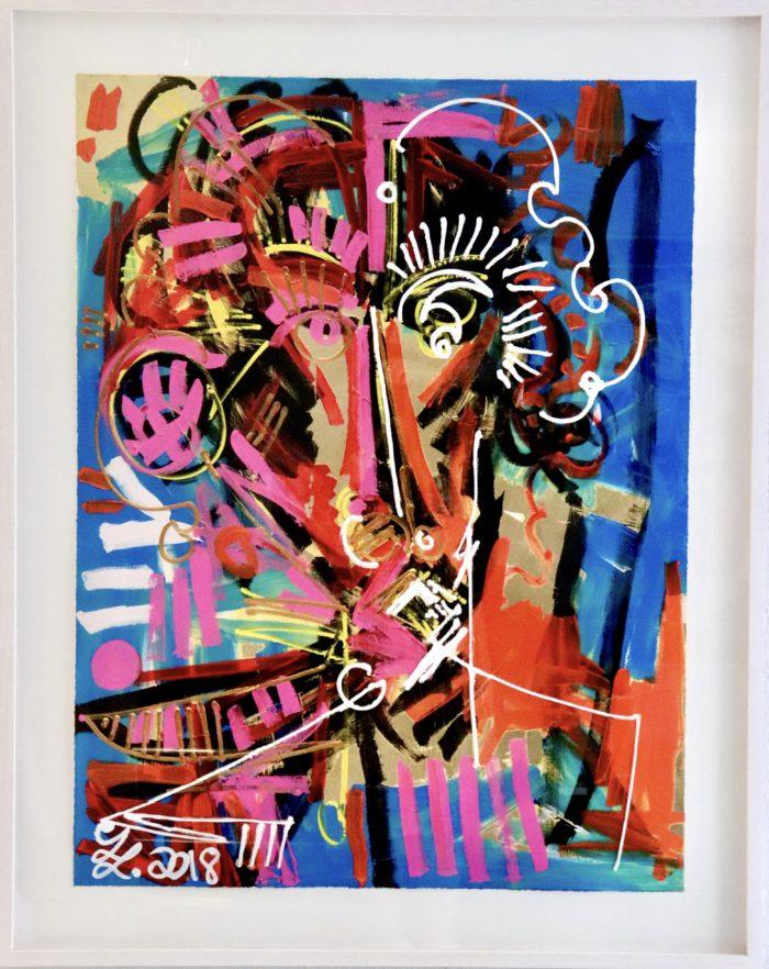 Here I am   Künstler: Leon Löwentraut